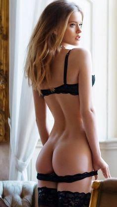 Nude girls in girdles