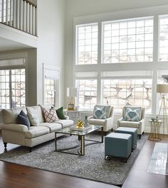 """Interior Design Ideas - """"Living Room Paint Color"""" (Classic Gray by Benjamin Moore) Living Room Furniture Layout, Paint Colors For Living Room, Living Room Designs, Rooms Furniture, Furniture Market, Furniture Design, Outdoor Furniture, Living Room Remodel, Home Living Room"""
