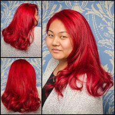 Jessica Rabbit hair by Michaela at The Proudest Pony! #Proudestpony #colour #hair #toronto #pravana #olaplex (at The Proudest Pony Hair & Co.)