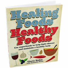 Healing Foods Healthy Foods by Gloria Halim   Cheap Healthy Eating Books at The Works