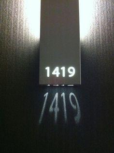 เลขที่บ้าน - เลขที่ห้อง แบบเก๋ๆ เหมาะกับคนชอบอะไรเท่ๆ ไม่เหมือนใคร