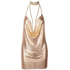 Kenny Mini Dress Gold ($105) ❤ liked on Polyvore featuring dresses, short dresses, kenny, gold dress, short gold cocktail dress and gold sparkly dress