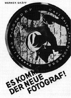 werner graeff, es kommt der neue fotograf! (1929)