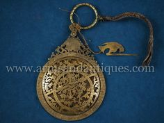 Extremely Rare 18th C. Mughal North Indian Astrolabe