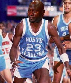 """The irony of the 'Crying Jordan Meme' craze = The """"Crying Jordan Meme"""" is a real thing now, worthy of its own proper noun. It's haunted the Internet in excess of a year, and it's taken a crazy, ironic turn. It's become synonymous with something Michael Jordan was....."""