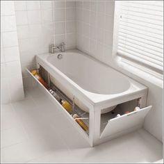 almacenamiento oculto bañera                                                                                                                                                                                 Más