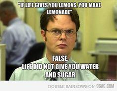 Oh, Dwight...