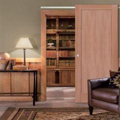 primed 1panel shaker flat panel solid wood interior barn door slab primed white