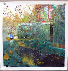 """Fang Xiang """"Autumn Country Home"""""""