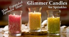 """Mix and match sprinkles to make your own candles.  Use this recipe to smell like pumpkin bread:   Sprinkles Ingredients:  1/3 """"Pumpkin Bread""""  1/3 """"Cedar Tangelo""""  1/3 """"Red Delicious Apple""""  Make this recipe and many more, take a look at my website: http://pinkzebrahome.com/pzsprinkles01"""