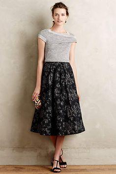 Shimmered Rose Skirt - #anthrofave
