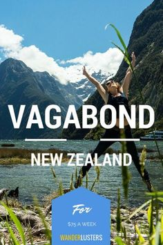 A great guide to budget friendly travel in New Zealand #wanderlust #backpacking #travel Traveling Tips Traveling on a Budget