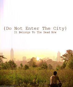 Do Not Enter The City, It Belongs To The Dead Now ~ The Walking Dead