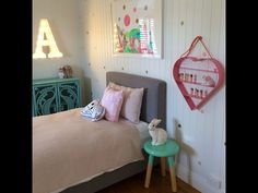 Love the A light. Petite Vintage Interiors.