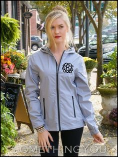 Something You - Charles River Watertown Jacket in Gray - Sizes XS to 3XL (Optional Monogram), $69.95 (http://www.somethingyou.com/new/charles-river-watertown-jacket-in-gray-sizes-xs-to-3xl-optional-monogram/)