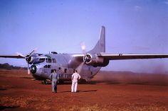 US Air Force Fairchild C-123 Provider at Ban Me Thuot