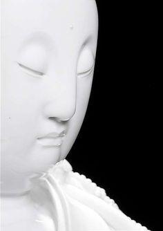 A very large Dehua model of standing Guanyin by Xu Youyi China, marked xu yuyuan zhi, late Qing-Republic period. Pablo Picasso, Meditation Rooms, Guanyin, Period, China, Sculpture, Statue, Buddha, Model