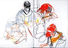 Lynn Pauley Illustration: Sketchbooks