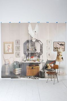 Photographed Antiquities Mural #anthropologie