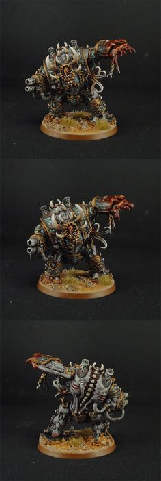CoolMiniOrNot - Chaos Space Marines Helbrute by TheMiniatureWorkshop