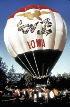Iowa has some amazing hot air balloon festivals. Air Ballon, Hot Air Balloon, Amana Colonies, Sioux City, Field Of Dreams, Iowa State, Covered Bridges, 6 Years, Great Places