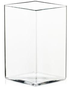 "Iittala Ruutu 8"" x 10.75"" Vase - Bowls & Vases - For The Home - Macy's"