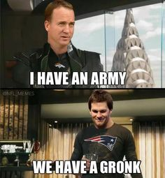 GRONK is an army, this is perfect!$