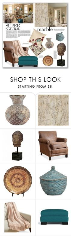 """Marble I"" by artplusdesign ❤ liked on Polyvore featuring interior, interiors, interior design, home, home decor, interior decorating, Stonebriar Collection, NLXL, Matteo and Casa Cortes"