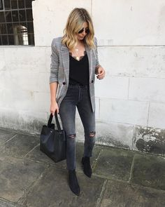 "5,115 Likes, 89 Comments - Emma Hill | EJSTYLE (@emmahill) on Instagram: ""Blazer overkill?...No such thing  Wearing my new season faves from @shopbop #MakeShopbopYours #ad…"""
