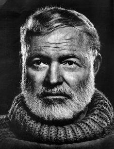 Hemingway, parce qu'il est badass.