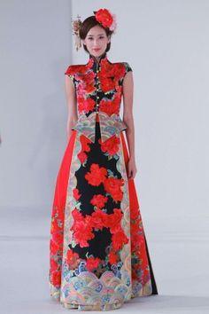 Guo Pei Ci Spring Summer Couture 2013 Singapore