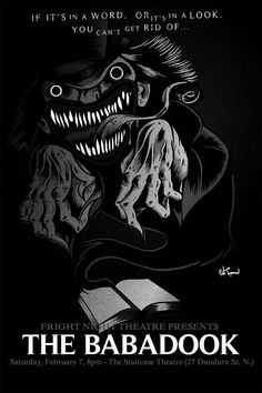 The Babadook Horror Horror Movie Posters, Cinema Posters, Horror Films, Film Posters, Best Movie Posters, Movie Poster Art, Arte Horror, Horror Art, The Babadook