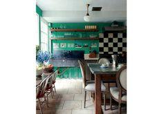 Stranger Than Vintage: Monday Design: Soho House Soho House, Green Countertops, Marble Countertops, Interior Exterior, Interior Design, Interior Modern, Home Goods Decor, Home Decor, The Originals