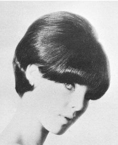 60's style hair-This was exactly how I wore my hair