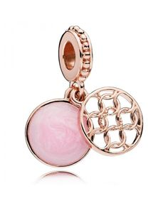 b8ef4b26f Cheap Pandora Rose Pattern Of Love Pendant Charm Pandora Charms Rose Gold,  New Pandora,