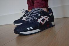 "Sneaker shoot, Ronnie Fieg x Asics Gel Lyte III ""Selvedge"""