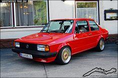 Red VW Jetta Mk1 2-Door by retromotoring, via Flickr