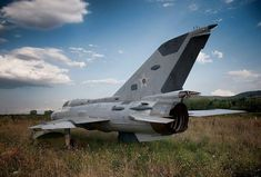Decommissioned Mikoyan-Gurevich MiG-21 Fishbed in Bulgaria