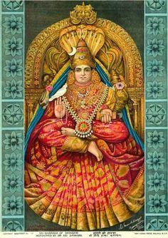 . Saraswati Goddess, Goddess Lakshmi, Shiva Linga, Shiva Shakti, Durga Images, Lakshmi Images, Ravivarma Paintings, Hindu Deities, Hinduism