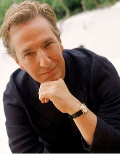 2000 - Alan Rickman ... a professional photo portrait in Los Angeles, CA -- Photo by Ron Davis/Getty Images