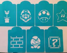game cookie stencils - Google Search