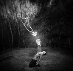 Andrii Bondart   On Tumblr. #photography #blackandwhite #surreal (this is amazing)