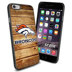 """Denver Broncos Wood iPhone 6 4.7"""" Case Cover Protector for iPhone 6 TPU Rubber Case SHUMMA http://www.amazon.com/dp/B00VR2UF5K/ref=cm_sw_r_pi_dp_XNoswb01RPW11"""