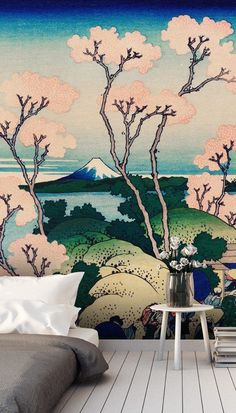 Creating such a relaxing euphoria, these Japanese art wallpapers will transform any room into absolute bliss. Perfect for your bedroom and bathroom or for a feature wall in any space, these oriental designs are extremely versatile. Order one of our Japanese wallpaper murals and transport yourself deep into the majestic Orient. Click to see this stunning collection from Wallsauce! #wallmural #wallpaper #oriental #wallsauce #japanese #homedecor #interiortrend