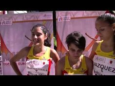 El equipo júnior femenino, medalla de plata en la Copa de Europa de marcha #Murcia2015.