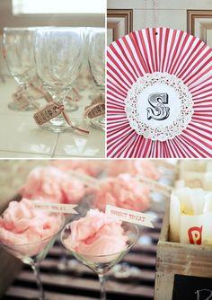 Carnival wedding shower! via Glendalough Manor Bride Blog
