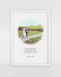 Luna & Lark - Custom Wedding Prints