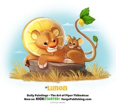 Day 1367. Limon by Cryptid-Creations.deviantart.com on @DeviantArt