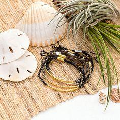 gorjana.com    Power Gemstone Bracelet for Protection // Power Gemstone Bracelet for Strength