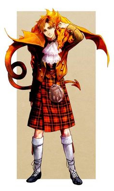 Scotland! He should have been in the actual manga!